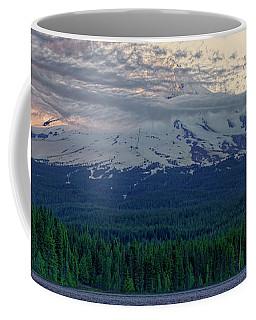 Mount Hood Sunset Coffee Mug by Jonathan Davison