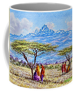 Mount Kenya 2 Coffee Mug