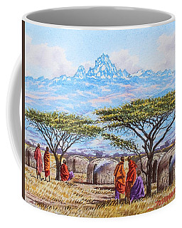 Mount Kenya 3 Coffee Mug