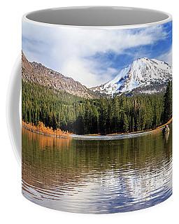 Coffee Mug featuring the photograph Mount Lassen Autumn Panorama by James Eddy