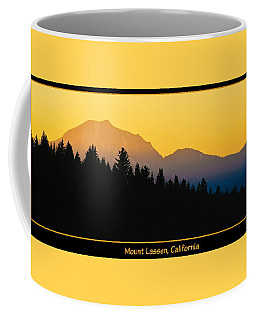 Mount Lassen, California Coffee Mug