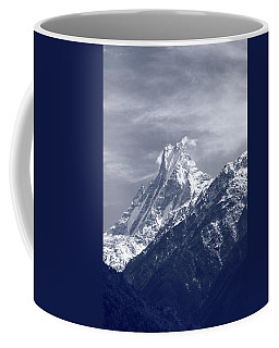 Mount Machapuchare, The Himalayas, Nepal Coffee Mug