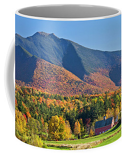 Mount Mansfield Autumn View Coffee Mug by Alan L Graham