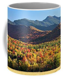 Mount Mansfield Fall Coffee Mug by Alan L Graham