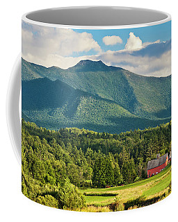 Mount Mansfield Summer View Coffee Mug