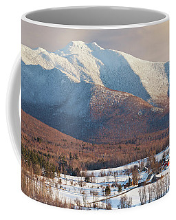Mount Mansfield Winter Afternoon Coffee Mug by Alan L Graham