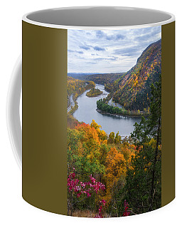 Coffee Mug featuring the photograph Mount Minsi 2 by Mark Papke