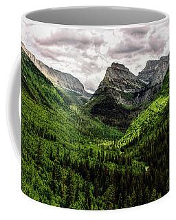Mount Oberlin And Bird Woman Falls Coffee Mug
