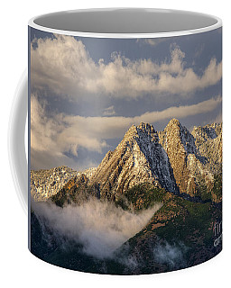 Coffee Mug featuring the photograph Mount Olympus by Spencer Baugh