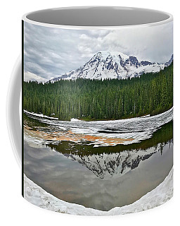Mount Rainier From Reflection Lakes Coffee Mug