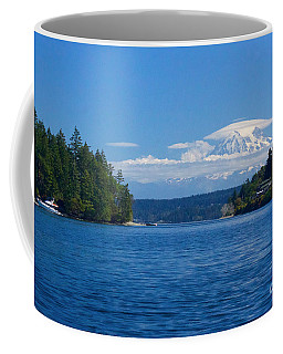 Mount Rainier Lenticular Coffee Mug