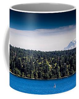 Coffee Mug featuring the photograph Mount Rainier by Randy Bayne