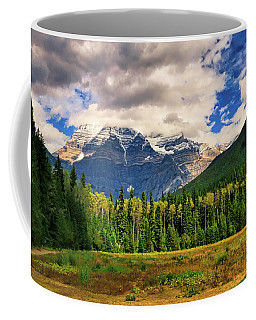 Coffee Mug featuring the photograph Mount Robson  by Ola Allen