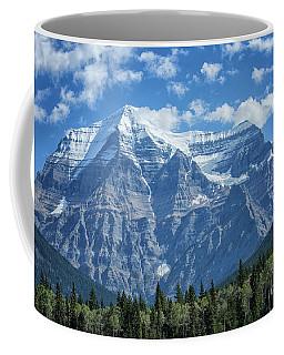 Mount Robson Coffee Mug by Patricia Hofmeester