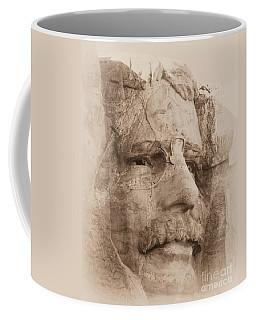 Mount Rushmore Faces Roosevelt Coffee Mug