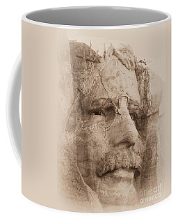 Mount Rushmore Faces Roosevelt Coffee Mug