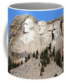 Mount Rushmore I Coffee Mug