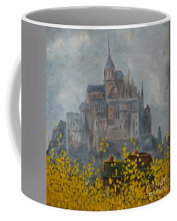 Mount Saint Michael Coffee Mug