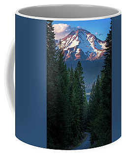 Mount Shasta - A Roadside View Coffee Mug