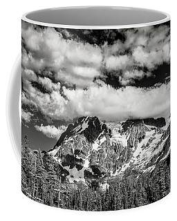 Coffee Mug featuring the photograph Mount Shuksan Under Clouds by Jon Glaser