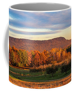 Mount Tom Foliage View Coffee Mug