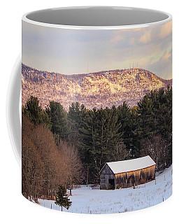 Mount Tom View From Southampton Coffee Mug