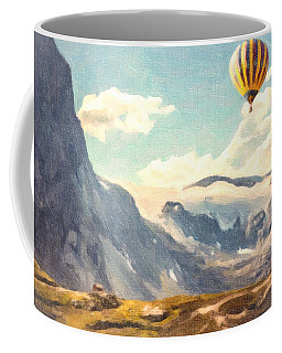Mountain Air Balloons Coffee Mug