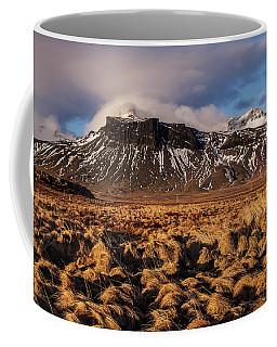 Mountain And Land, Iceland Coffee Mug