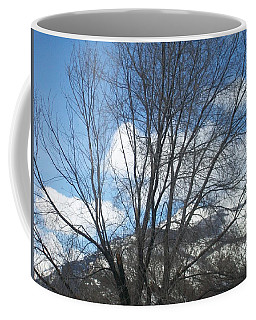 Mountain Backdrop Coffee Mug by Jewel Hengen