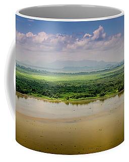 Mountain Beyond The River Coffee Mug