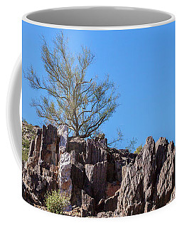Coffee Mug featuring the photograph Mountain Bush by Ed Cilley