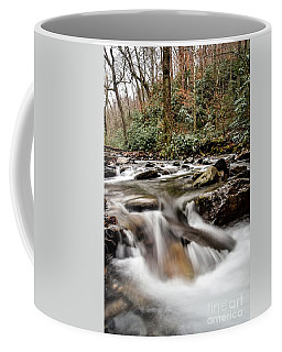 Mountain Cascades Coffee Mug by Debbie Green