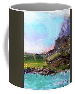 Mountain Fenceline Coffee Mug