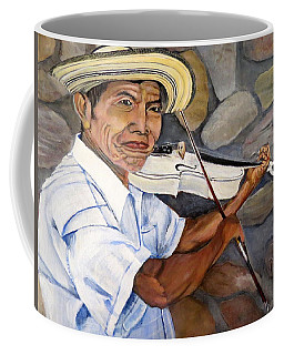 Mountain Fiddler Coffee Mug by Marilyn McNish
