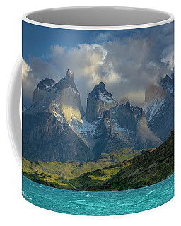 Mountain Glimmer Coffee Mug by Andrew Matwijec