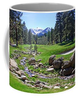Mountain Golf Course Coffee Mug