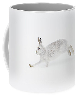 Mountain Hare Running Coffee Mug