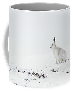 Mountain Hare Side On Coffee Mug