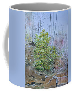 Mountain In Fall Coffee Mug by Christine Lathrop