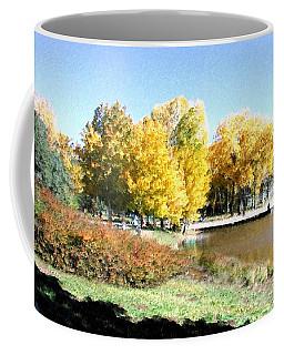 Mountain Lake Autumn Coffee Mug