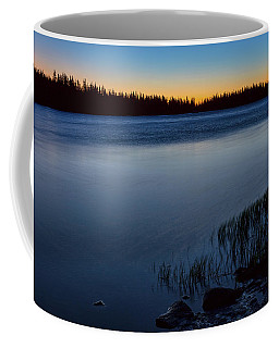Coffee Mug featuring the photograph Mountain Lake Glow by James BO Insogna