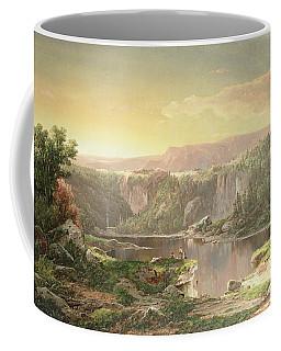 Mountain Lake Near Piedmont Coffee Mug