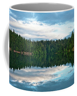 Mountain Lake Reflection Coffee Mug