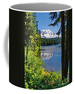 Mountain Lake Reflections Coffee Mug