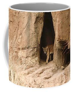 Mountain Lion - Dark Coffee Mug