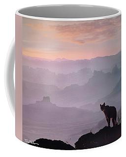 Mountain Lion Coffee Mug by Tim Fitzharris