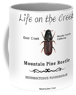 Mountain Pine Beetle Color Coffee Mug