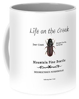 Mountain Pine Beetle Color Coffee Mug