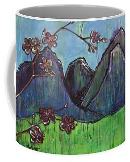 Copper Mountain Pose Coffee Mug