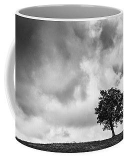 Tree On Hill - Doughton Park Blue Ridge Parkway Coffee Mug